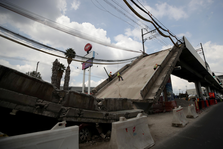 Mexico City metro crash findings blame construction