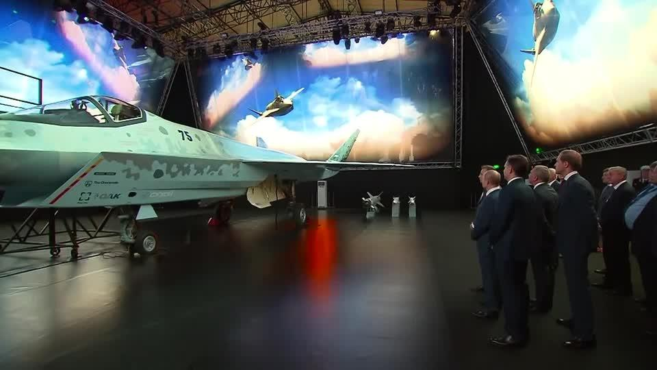 This is Russia's new stealth fighter jet