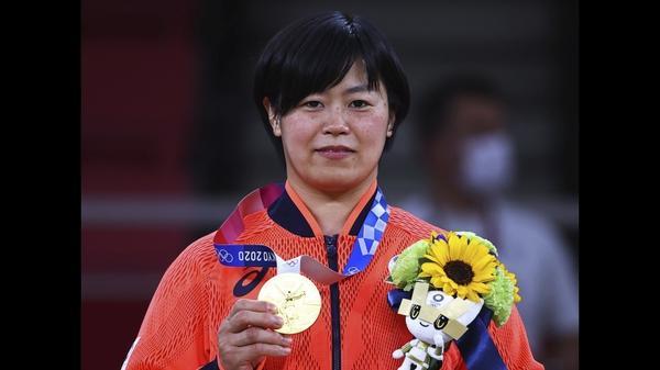浜田尚里が金、全試合寝技で勝利 柔道女子78キロ級(字幕・29日)