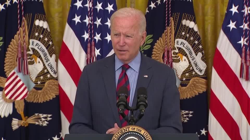 'I think he should resign': Biden on Gov. Cuomo