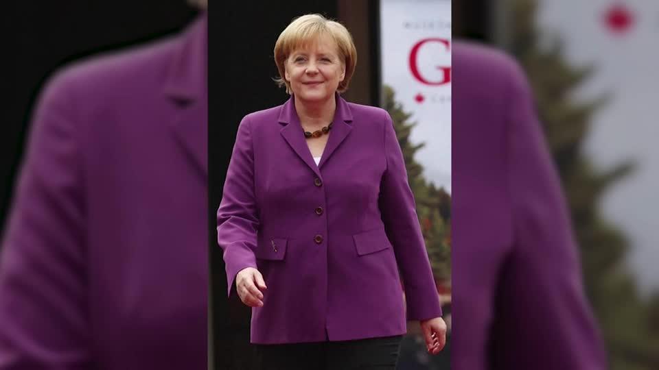 Angela Merkel's fashion impact