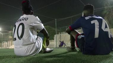 Africa's rising soccer stars train in Egypt's refugee academy