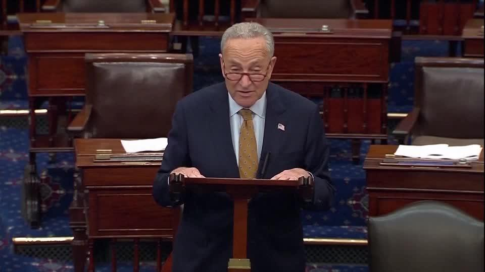 GOP 'has now become the party of default' -Schumer