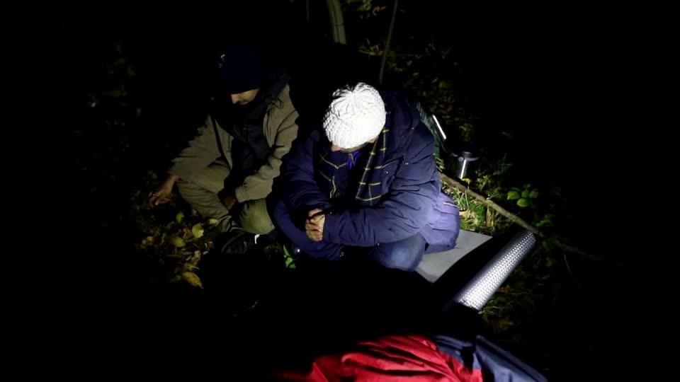 Polish guards push us back to Belarus, say migrants