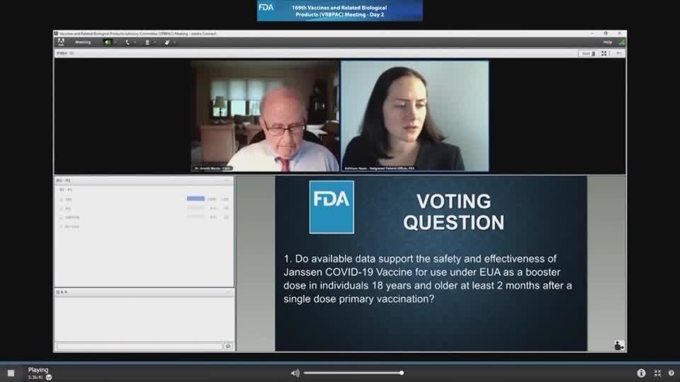FDA advisors back J&J booster for 18 and up