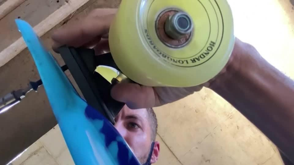 Bottle cap skateboards promote recycling in Brazil