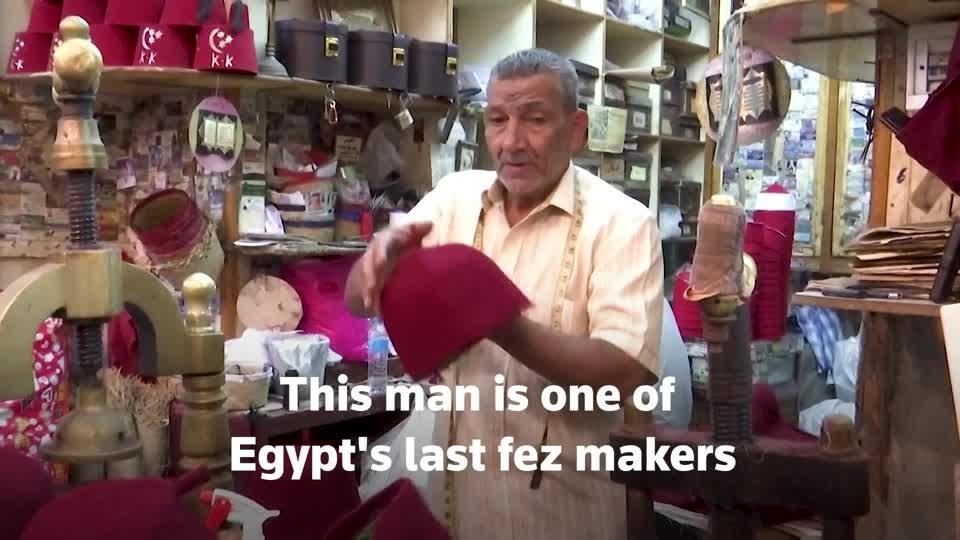 One of Egypt's last fez makers takes pride in craft