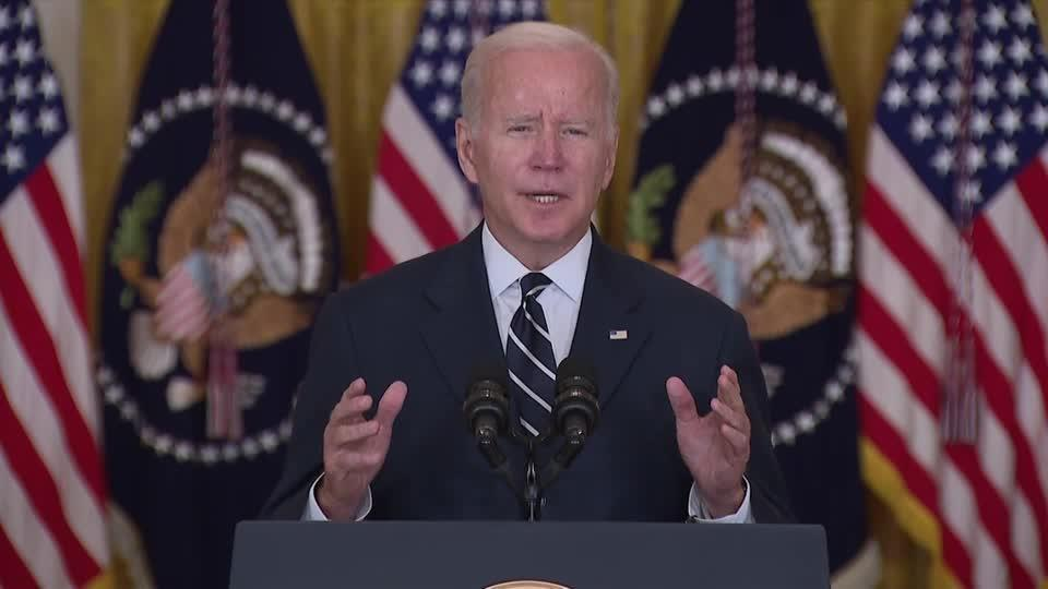 Biden unveils new spending plan, some Dems push back