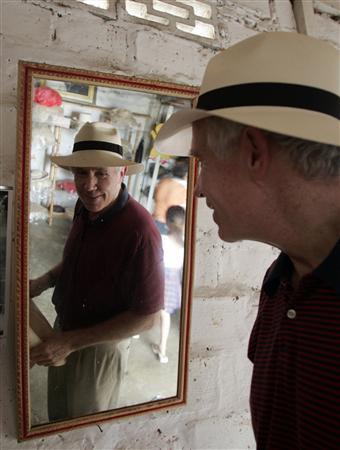Panama hats: made in Ecuador, undercut by China - Reuters