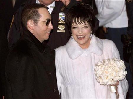 Liza Minnelli And Husband David Gest Leave The Marble Collegiate Church In New York City This File Photo From March 16 2002 After Their Wedding