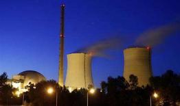 <p>Una veduta dell'impianto nucleare di Philippsburg, in Germania. REUTERS/Alex Grimm (GERMANY)</p>