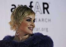 <p>Sharon Stone all'inaugurazione di Cinema Against AIDS a Dubai. REUTERS/STR New</p>