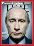 """<p>Обложка номера журнала Time в котором Владимир Путин назван """"Человеком года"""", 19 декабря 2007 года. Американский журнал Time назвал Владимира Путина """"Человеком года"""", указав в числе заслуг уходящего президента России стабильность и повышение статуса страны в мире. (REUTERS/Handout).</p>"""