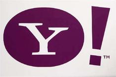 <p>Il logo di Yahoo. REUTERS/Rick Wilking</p>