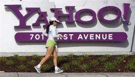 <p>La sede di Yahoo! a Sunnyvale, California. REUTERS/Kimberly White</p>