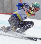 <p>Bode Miller durante le qualificazioni. REUTERS/Petr Josek</p>