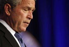 """<p>Президент США Джордж Буш выступает с речью, посвященной пятой годовщине вторжения США в Ирак, в американском министерстве обороны в Вашингтоне 19 марта 2008 года. Джордж Буш заявил, что, несмотря на """"большие человеческие потери и высокие затраты"""", не жалеет о часто осуждаемой войне в Ираке, добавив, что США находятся на пути к своей главной победе в этом регионе. (REUTERS/Jason Reed)</p>"""