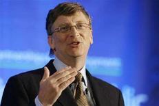 <p>Il presidente di Microsoft Bill Gates. REUTERS PICTURE</p>