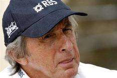<p>L'ex campione di Formula Uno Jackie Stewart. REUTERS/Caren Firouz</p>