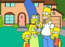 <p>Un'immagine promozionale della serie televisiva dei Simpson. REUTERS/Fox/Handout</p>