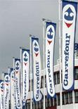 <p>Un supermercato Carrefour vicino a Zurigo. REUTERS/Siggi Bucher (SWITZERLAND)</p>