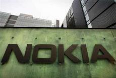 <p>Il centro di ricerca Nokia a Helsinki. REUTERS/Bob Strong (FINLAND)</p>