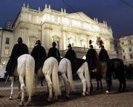 <p>Un'immagine del teatro La Scala di Milano. REUTERS/Alessandro Garofalo (ITALY)</p>