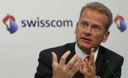 <p>Carsten Schloter in una foto d'archivio. REUTERS/Christian Hartmann (SWITZERLAND)</p>