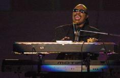 <p>Stevie Wonder in una immagine di archivio. REUTERS / Steve Marcus</p>