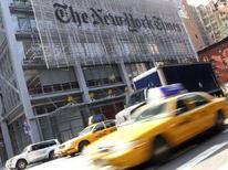 <p>La sede del New York Times REUTERS/Gary Hershorn</p>