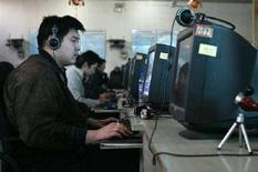 <p>Un'immagine di un Internet café. REUTERS/Claro Cortes IV</p>