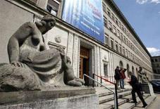 <p>Штаб-квартира Всемирной торговой организации в Женеве, 18 июля 2008 года. Переговоры о либерализации международной торговли потерпели крах во вторник из-за разногласий между США и Индией. (REUTERS/Denis Balibouse)</p>