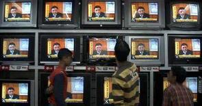<p>Bambini che hanno tv in camera dormono di meno, rivela studio. REUTERS/Anil Dayal</p>