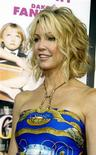 "<p>Actress Heather Locklear poses at the premiere of the film ""Uptown Girls"" in Hollywood in this file photo from August 4, 2003. REUTERS/Fred Prouser FSP</p>"