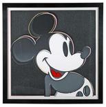"""<p>Fopto de archivo de una litografía de Andy Warhol en el museo Ardberg titulada """"Mickey Mouse"""", Suecia, 18 jul 2008. REUTERS/Abergs Museum/Handout</p>"""