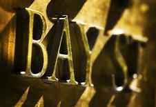 <p>A Bay Street sign is seen at the financial district in Toronto, October 10, 2008. REUTERS/Mark Blinch</p>