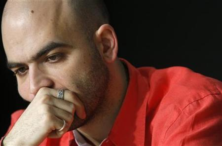 Italian script writer Roberto Saviano attends a news conference for the film ''Gomorra'' at the 61st Cannes Film Festival May 18, 2008. REUTERS/Jean-Paul Pelissier