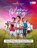 "<p>A poster of ""Laskar Pelangi"", or ""Rainbow Warriors"", film in seen in this publicity handout photo. A film about a gang of poor Indonesian children who struggle to get a basic education has become an unexpected blockbuster in a country where many youngsters still don't have adequate schooling. To match Reuters Life! FILM-INDONESIA/POVERTY REUTERS/Miles Films/Handout</p>"