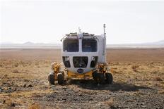 <p>Small Pressurized Rover Concept, il nuovo veicolo di esplorazione lunare della Nasa. REUTERS/Tim Gaynor (UNITED STATES)</p>