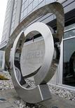<p>Foto de archivo del logo de la compañía Nortel en sus oficinas centrales en Toronto, Canadá, 6 mayo 2008. Nortel Networks Corp, el mayor fabricante de equipos de telefonía de Norteamérica, informó el lunes una gran pérdida del tercer trimestre y anunció una ronda de recortes de costos que incluye el despido de otras 1.300 personas. REUTERS/Mike Cassese</p>