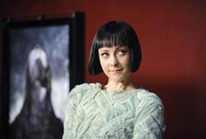 """<p>Cast member Jena Malone attends a special screening of the film """"The Ruins"""" in Los Angeles April 2, 2008. REUTERS/Phil McCarten</p>"""