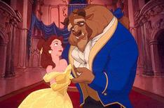 """<p>Belle and Beast in a scene from the 1991 Walt Disney film """"Beauty and The Beast"""". REUTERS/Handout</p>"""