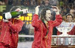 <p>Espanha ganha a Copa Davis REUTERS/Enrique Marcarian (ARGENTINA)</p>