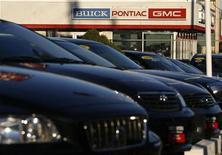 <p>A General Motors car dealership is seen in Roslyn, New York November 19, 2008. REUTERS/Shannon Stapleton</p>