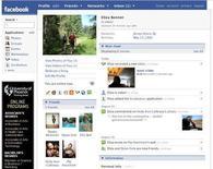 <p>A Facebook profile is seen in a handout photo. REUTERS/Handout</p>