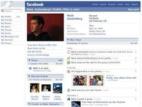 <p>A Facebook profile is seen in a handout image. REUTERS/Facebook/Handout</p>