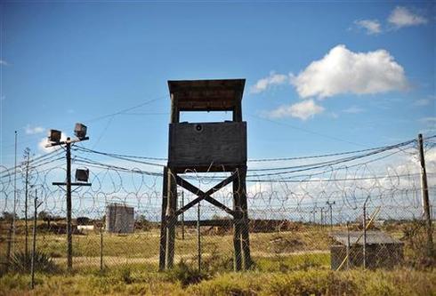 A closed Guantanamo prison camp