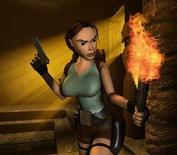 <p>Tomb raider, uno dei titoli prodotti da Eidos, società di sviluppo di software per giochi.</p>
