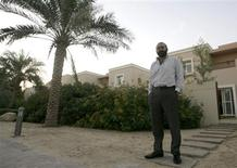 <p>Businessman Reza Dabir-Alai stands outside his residence at the Arabian Ranches in Dubai in this picture taken December 16, 2008. The economy of the United Arab Emirates, the world's fifth-largest oil exporter, has surged 50 percent in real terms since 2004, but the tide has turned as slumping oil prices and a global financial meltdown put an end to Dubai's property boom. Picture taken December 16. REUTERS/Regi Varghese</p>
