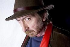 """<p>Graphic artist and director Frank Miller poses for a portrait while promoting the film """"The Spirit"""" in New York December 13, 2008. REUTERS/Lucas Jackson</p>"""